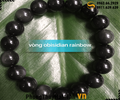 vong tay Obsidian Rainbow