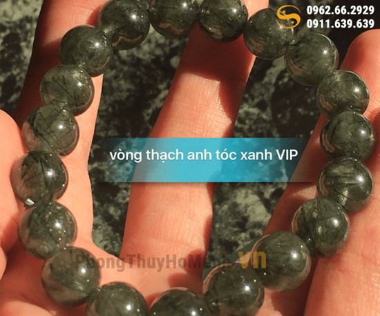 vong tay thach anh toc xanh dac